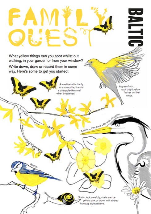 BALTIC Family Quest Activity Guide: Yellow