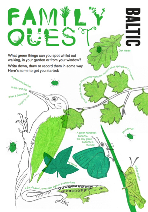 BALTIC Family Quest Activity Guide: Green