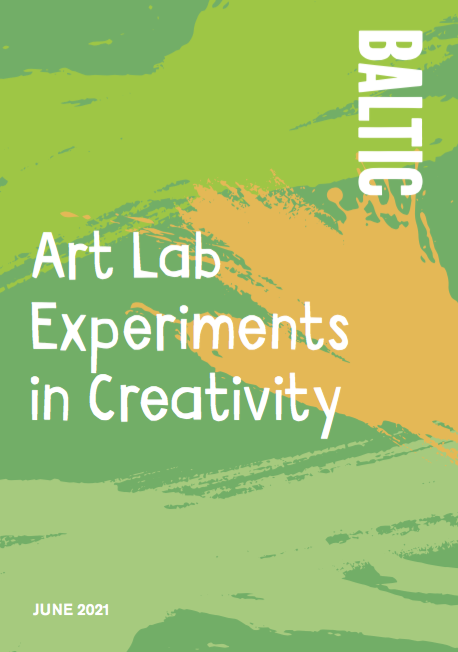 Art Lab Experiments in Creativity: June 2021 Resource