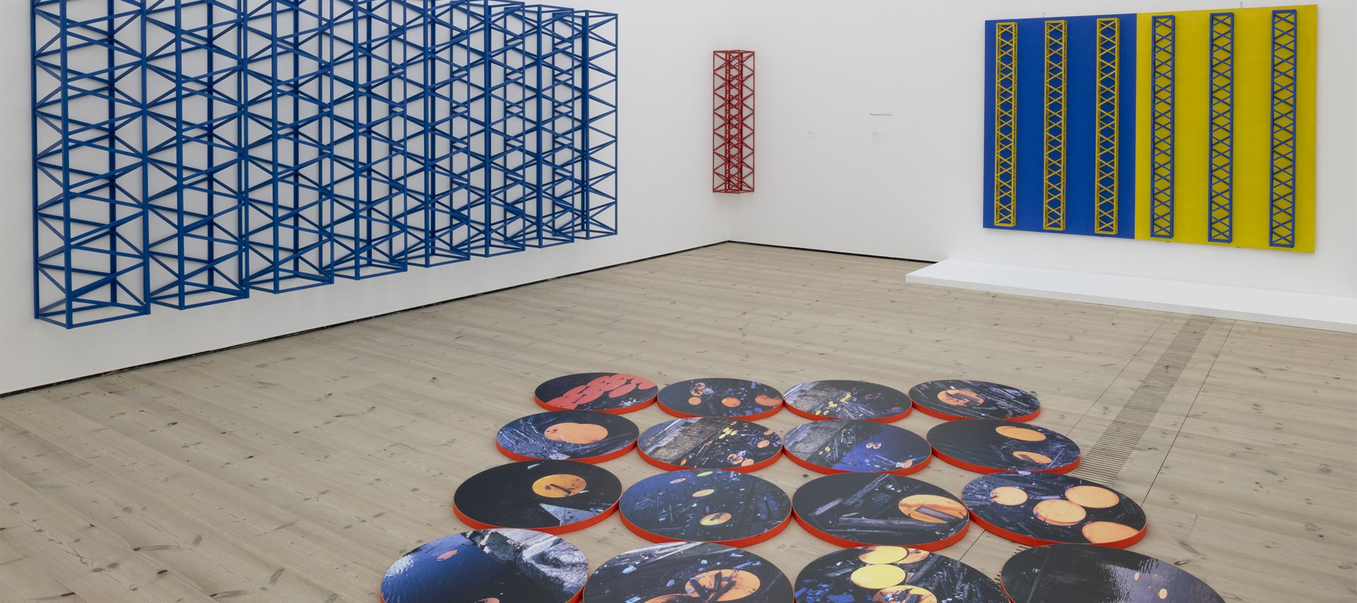 Rasheed Araeen: Installation view (01): Image: Jonty Wilde © 2018 BALTIC