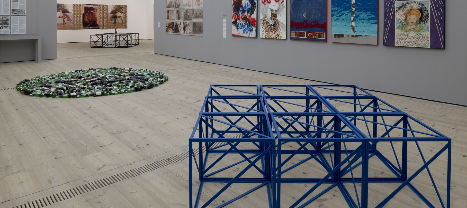 Rasheed Araeen: Installation view (02): Image: Jonty Wilde © 2018 BALTIC
