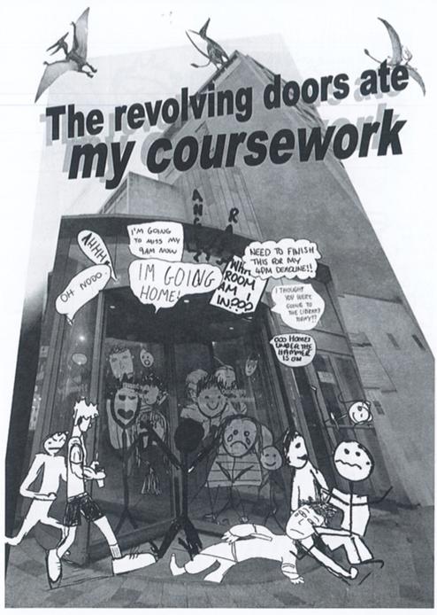 The Revolving Door Ate My Coursework