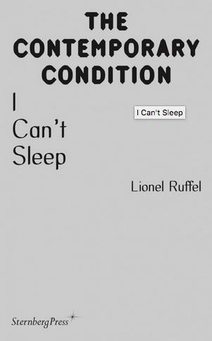 I Can't Sleep