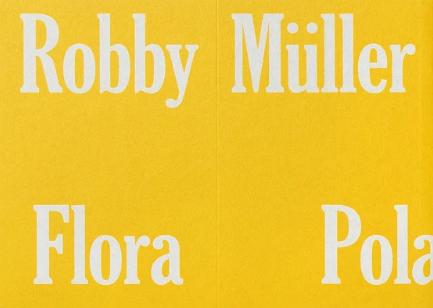 Robby Müller: Flora Polaroid