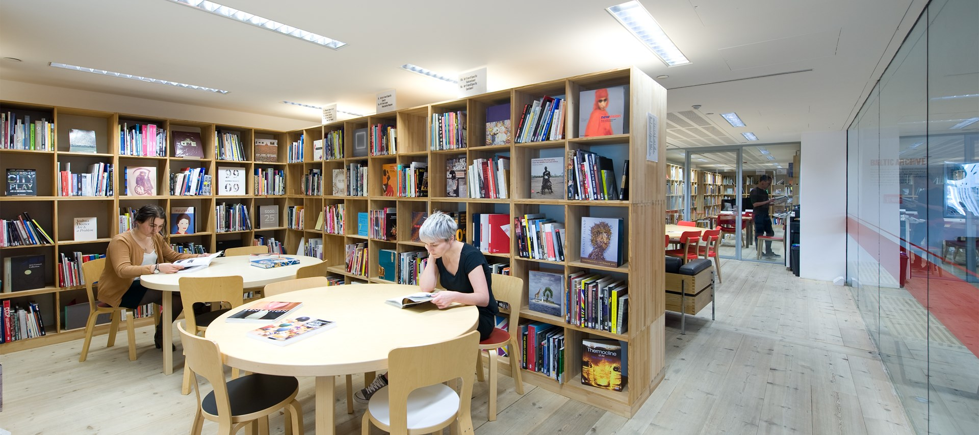BALTIC Library: July 2015 by Colin Davison