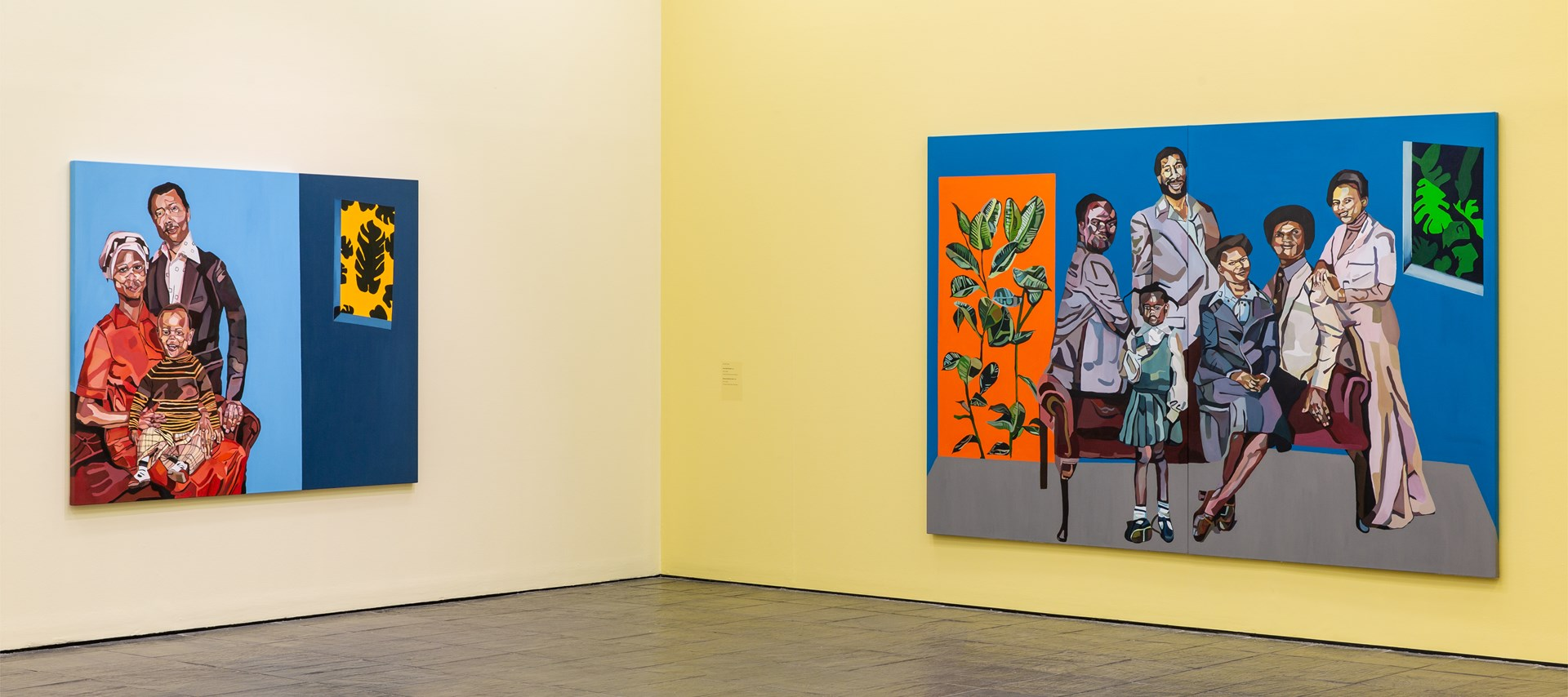 Joy Labinjo: Our histories cling to us: Installation View by Rob Harris. © BALTIC 2019