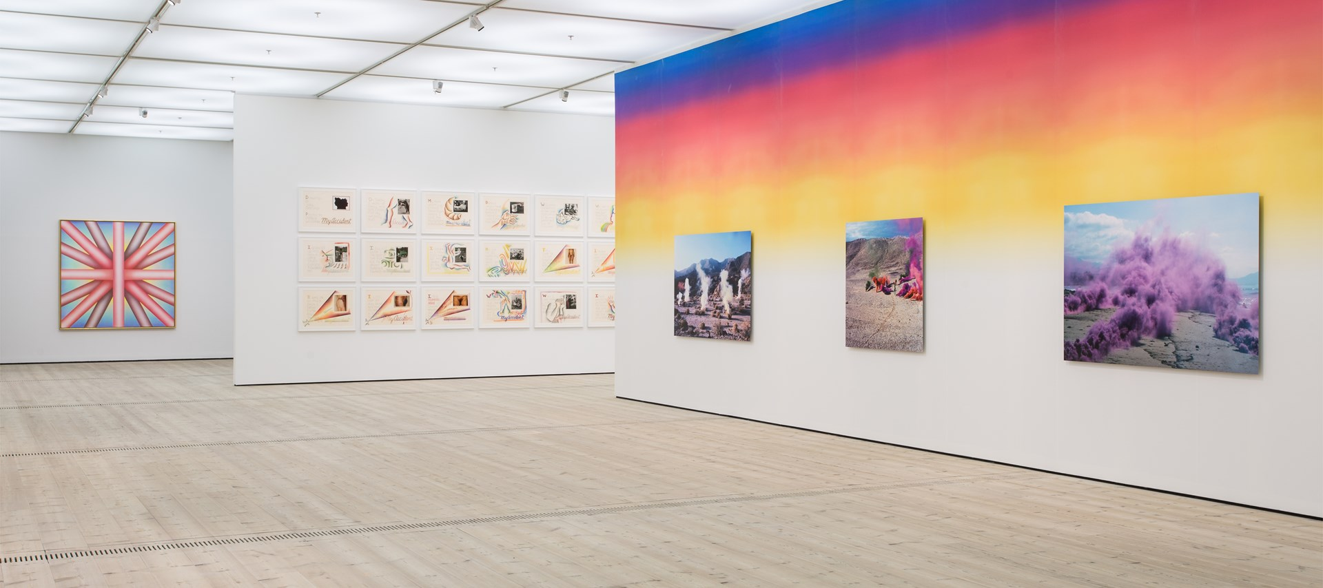 Judy Chicago: Installation View by Rob Harris. © BALTIC 2019