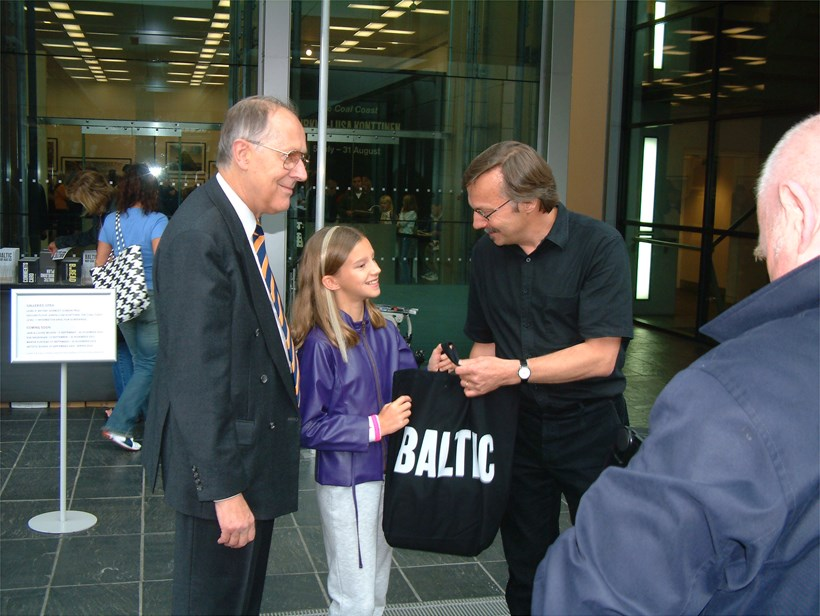 BALTIC's millionth visitor (02)
