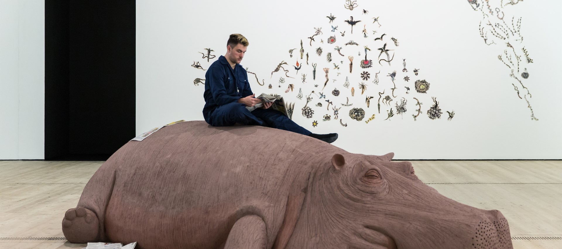 Animalesque: Installation View by Rob Harris. © BALTIC 2019