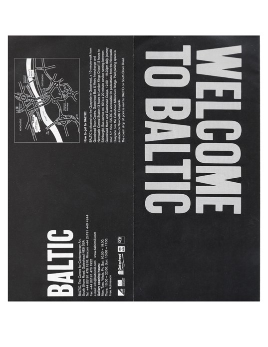 BALTIC What's on Guide (02/01) July-Oct 02