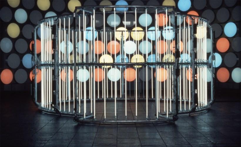 Carsten Höller, Neon Circle (2001) and BALTIC Phi Wall, 2002 (01)