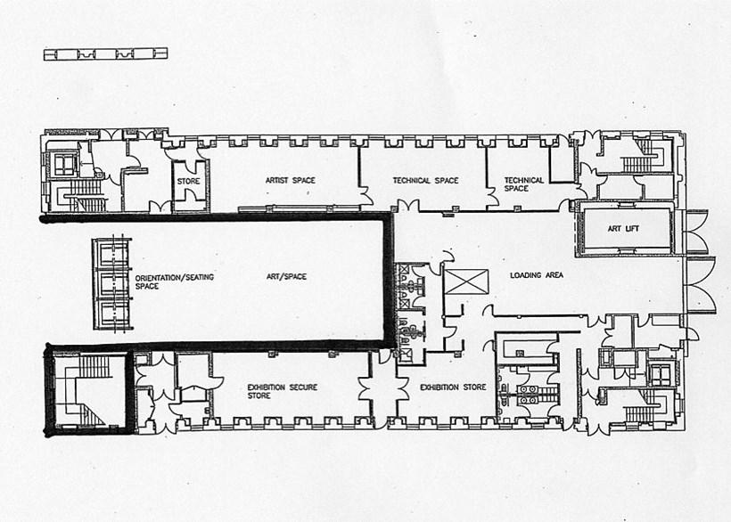 BALTIC Plan: Main Building