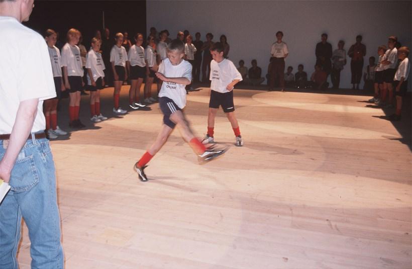 Alec Finlay: Participations: Labanotation/Football Haiku (09)
