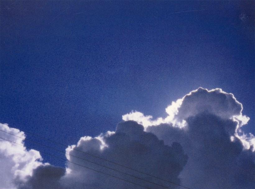 Alec Finlay: Participations -  Wind blown cloud -  (postcard)