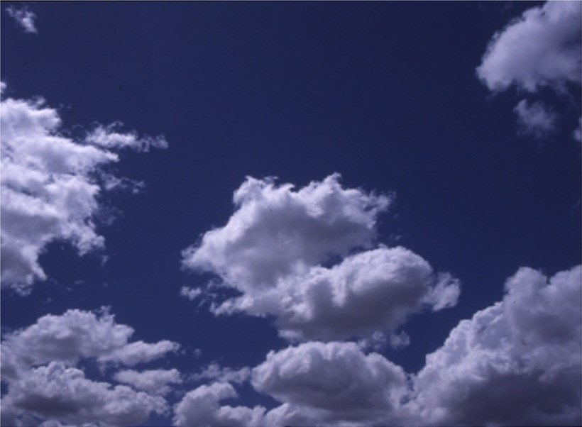 Alec Finlay: Participations -  Wind blown cloud -  (postcard 02)