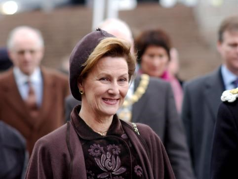 Queen of Norway's visit to BALTIC: 7th December 2002