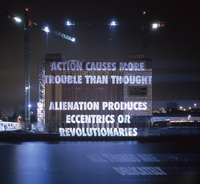 Jenny Holzer: Xenon Projections (01)