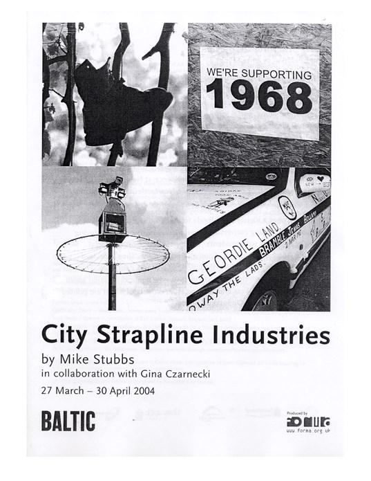 Mike Stubbs: City Strapline Industries: Exhibition Guide