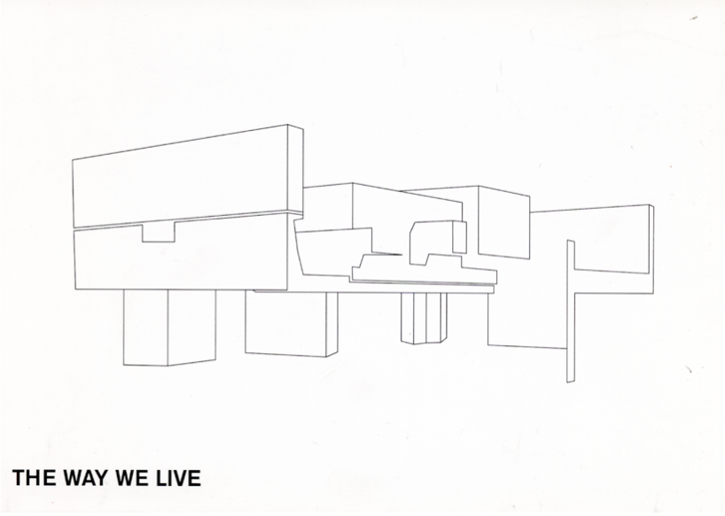 The Way We Live (01): Postcard: A5 Version