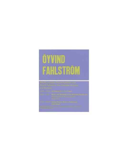 Oyvind Fahlstrom: Exhibition Preview: Drinks Voucher
