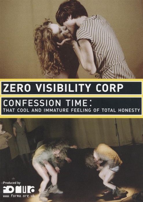 Zero Visibility: Confession Time: Event Flyer