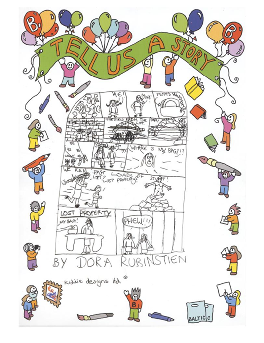 Tell Us A Story: winning  competition entry by Dora Rubinstein - aged 11