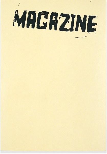 Mike Nelson: Magazine