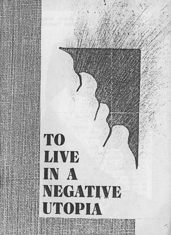 Gyorgy Galantai: To Live in a Negative Utopia