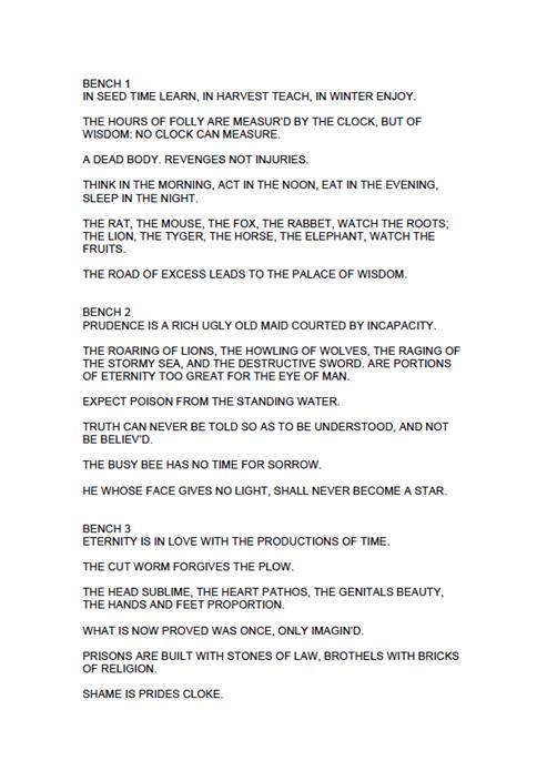 Jaume Plensa: BALTIC BLAKE BLUE: Text