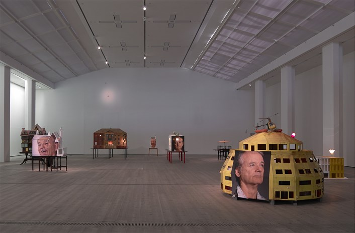 Brian Griffiths: BILL MURRAY: a story of distance, size and sincerity