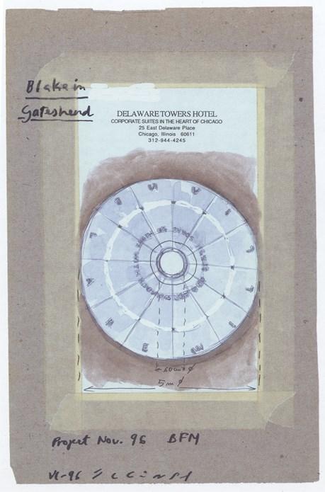 Jaume Plensa: Blake in Gateshead sketches (03)