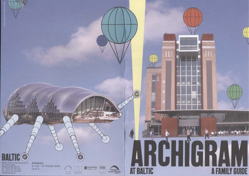 Archigram at BALTIC: A Family Guide