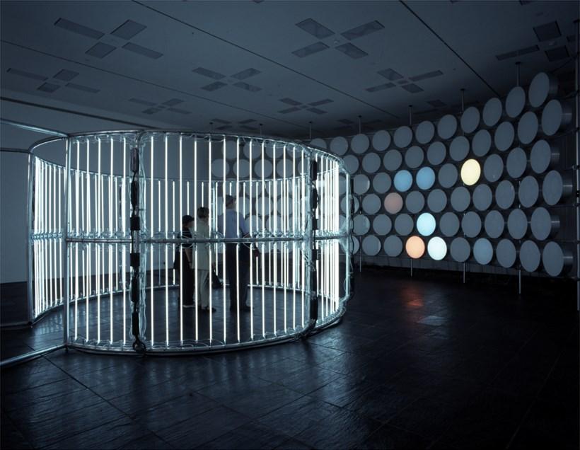 Carsten Höller, Neon Circle (2001) and BALTIC Phi Wall, 2002 (05)
