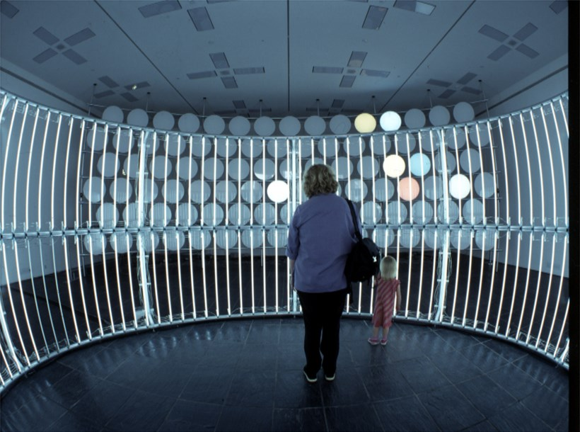 Carsten Höller, Neon Circle (2001) and BALTIC Phi Wall, 2002 (06)