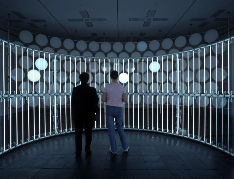 Carsten Höller, Neon Circle (2001) and BALTIC Phi Wall, 2002 (04)