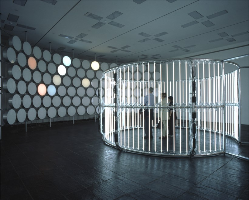 Carsten Höller, Neon Circle (2001) and BALTIC Phi Wall, 2002 (07)