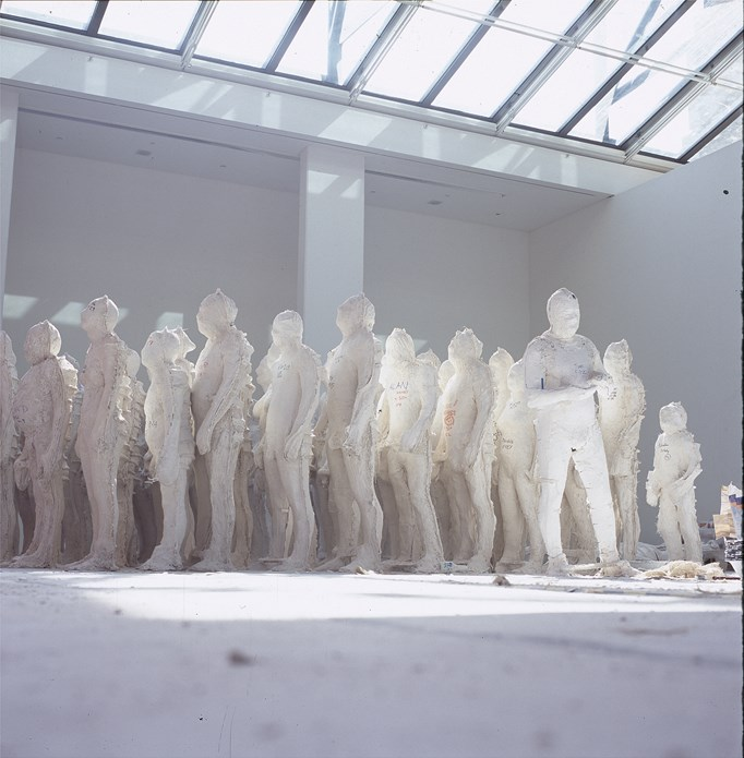 Antony Gormley: Domain Field: Casting (04)