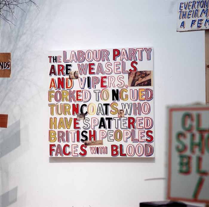 Bob and Roberta Smith: Help Build the Ruins of Democracy (03)