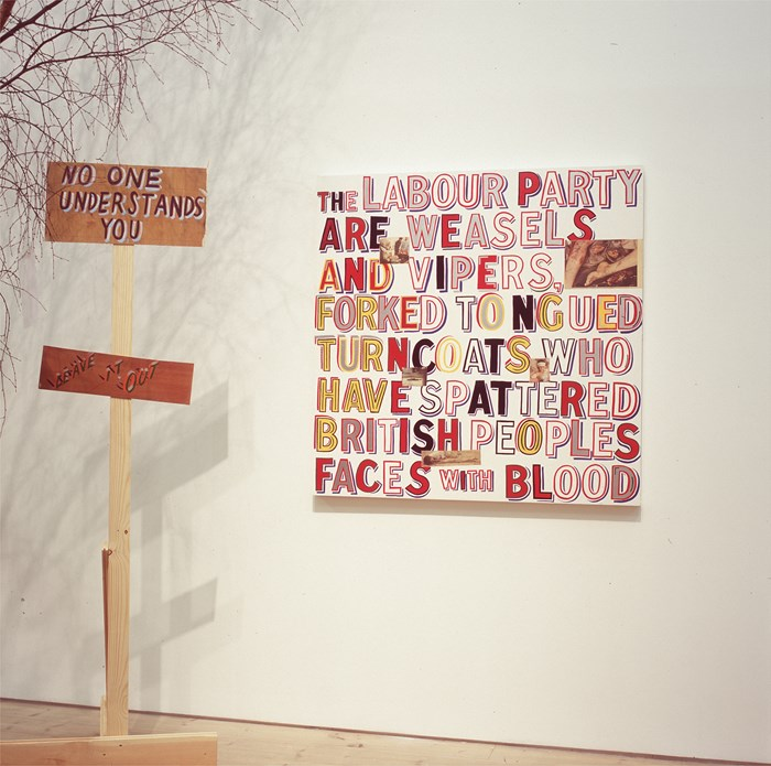 Bob and Roberta Smith: Help Build the Ruins of Democracy (11)