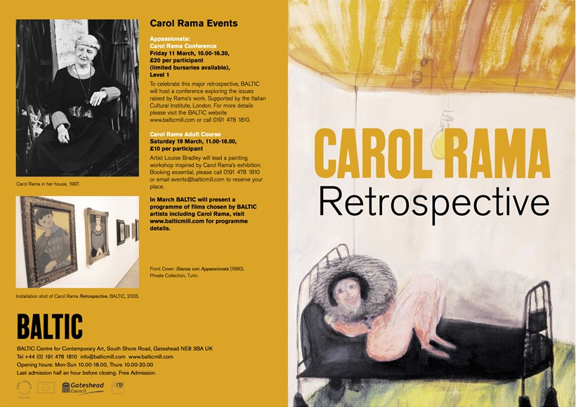 Carol Rama: Retrospective: Exhibition Guide