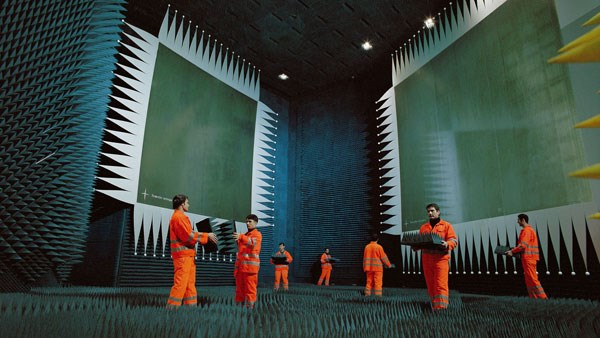 Julian Rosefeldt: Asylum: BALTIC Installation on Level 3 (01)